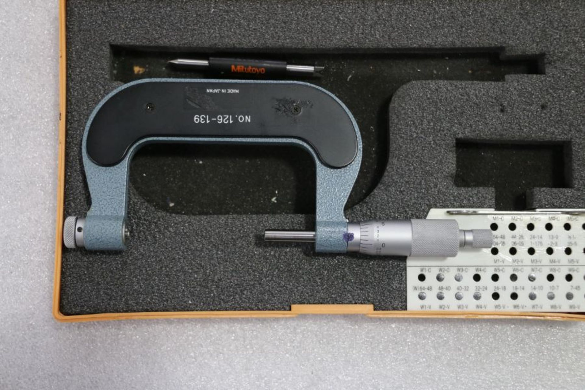 """Lot 27 - Mitutoyo 2"""" - 3"""" Pitch Micrometer"""