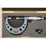 "Mitutoyo 1"" - 2"" Blade Micrometer"