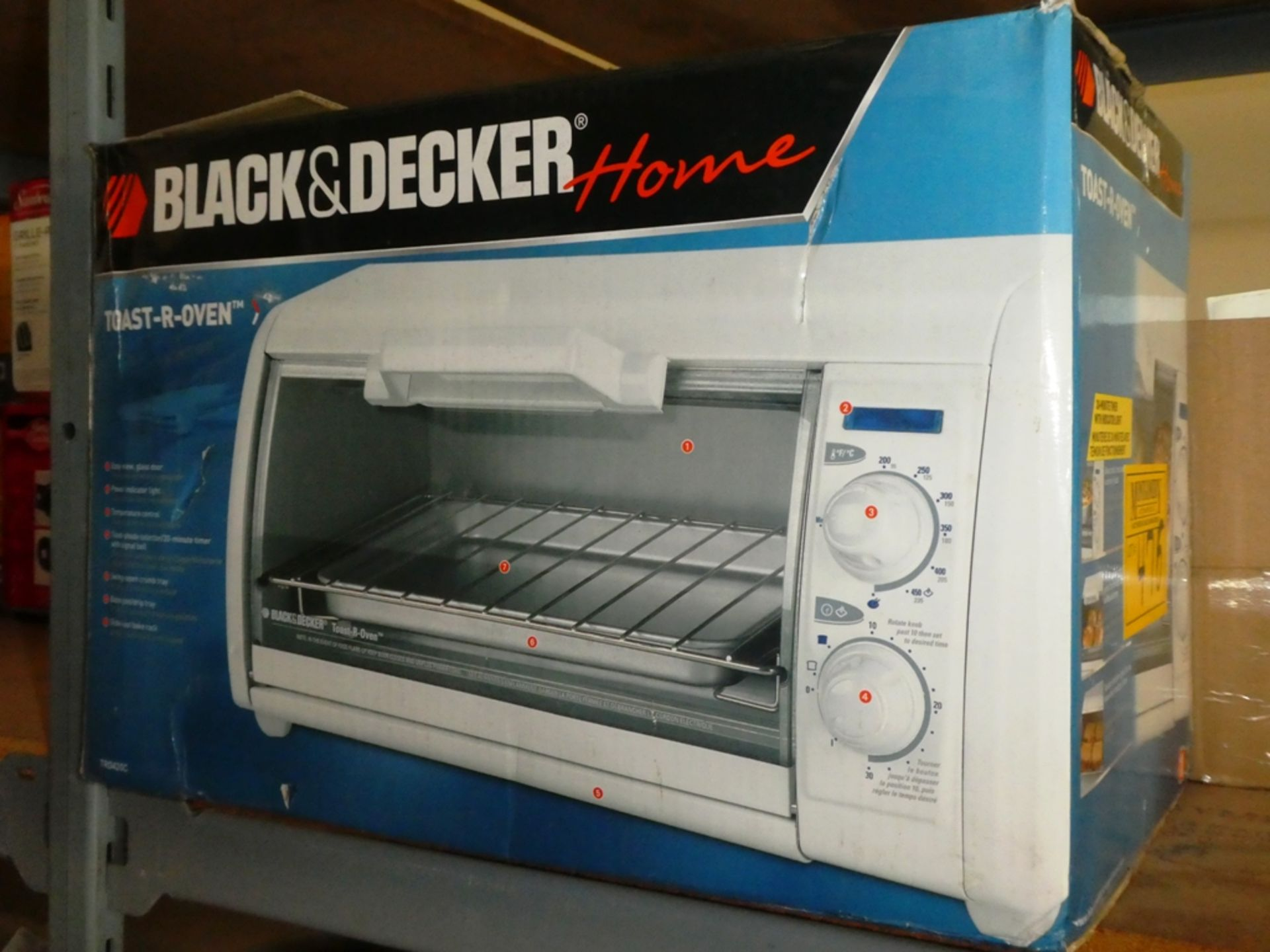 Lot 476 - B&D TOASTER-R- OVEN - NEW