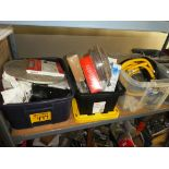 Lot 477 - L/O GAS LINE, THERMOSTATS, HOT WATER TANK PARTS, FURNACE PARTS, ETC