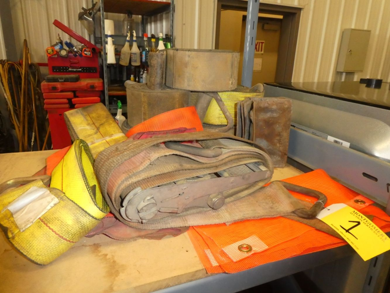 OILFIELD & SHOP TOOLS & EQUIPMENT, STORAGE CONTAINERS - Harpoon Energy
