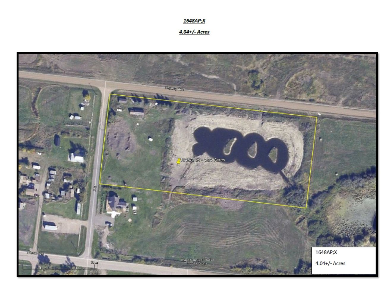 UNRESERVED LAND AUCTION