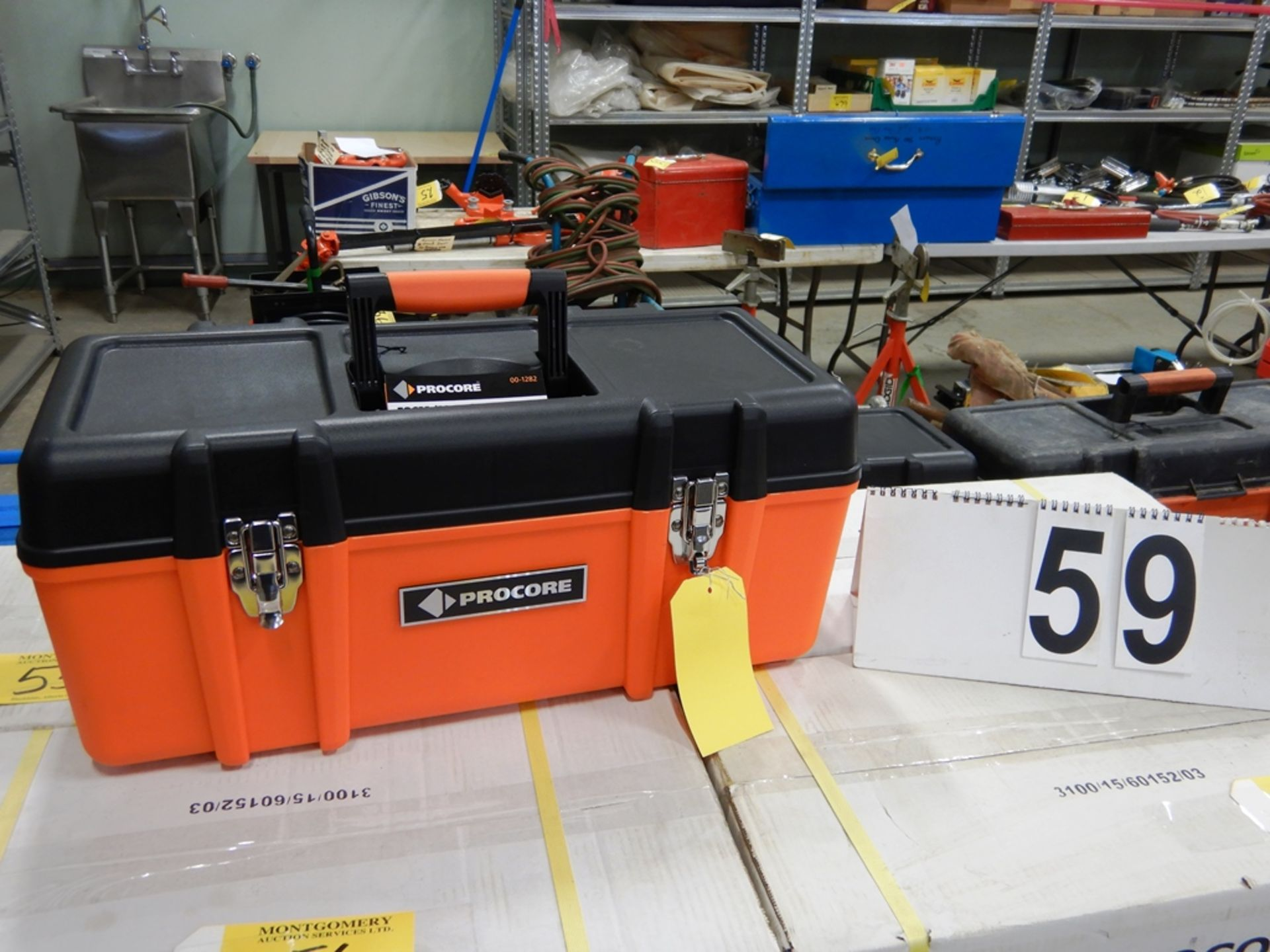 "Lot 59 - NEW PROCORE 23"" TOOL BOX"