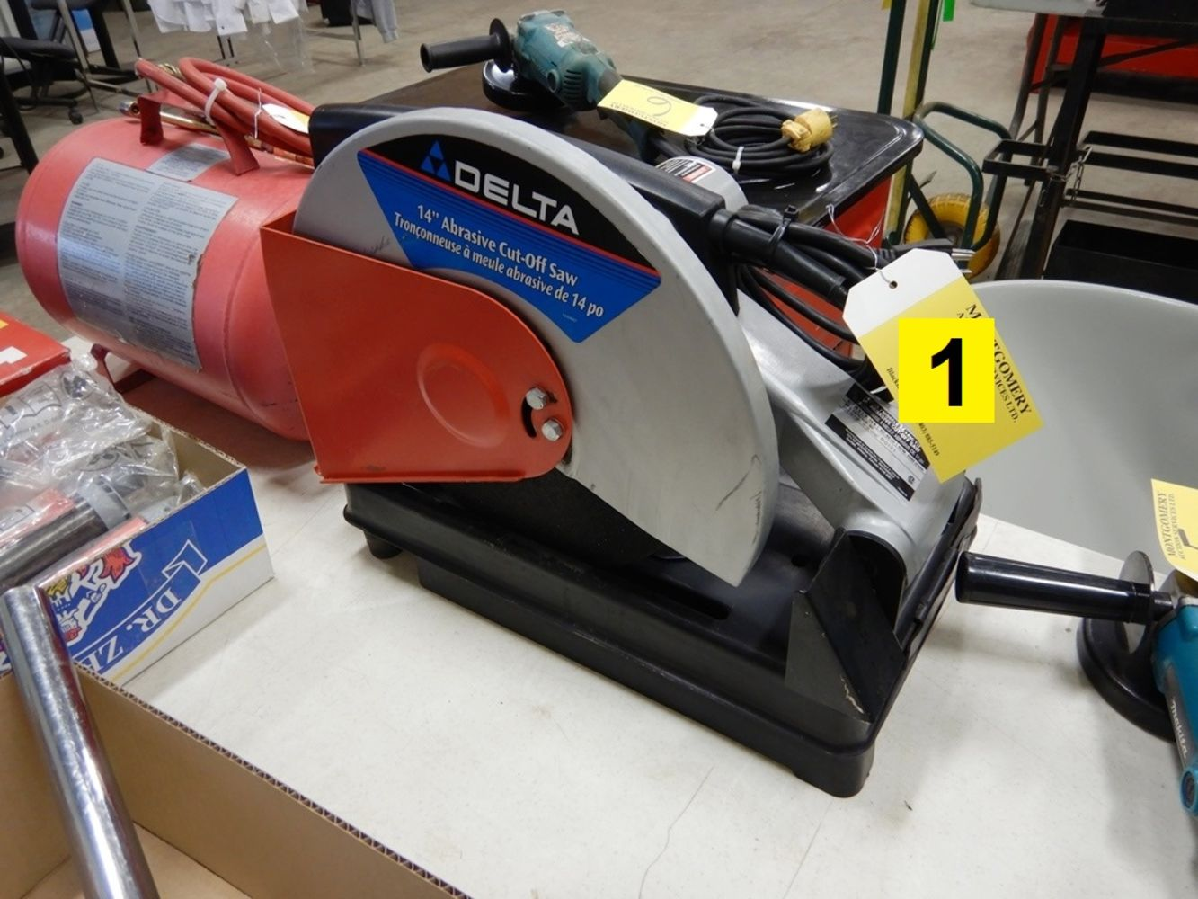 Oilfield Shop Tools & Equipment, Side X Side, C-Cans, Police Seizure - Online Timed Only