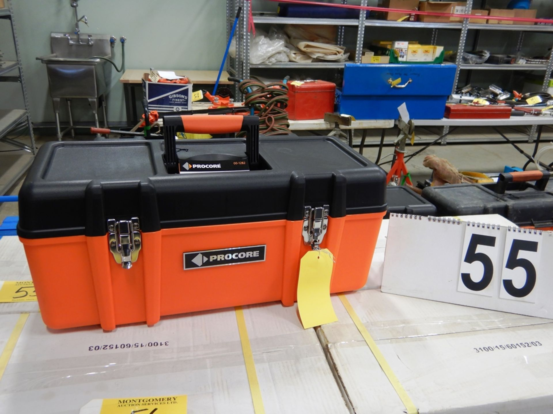 "Lot 55 - NEW PROCORE 23"" TOOL BOX"