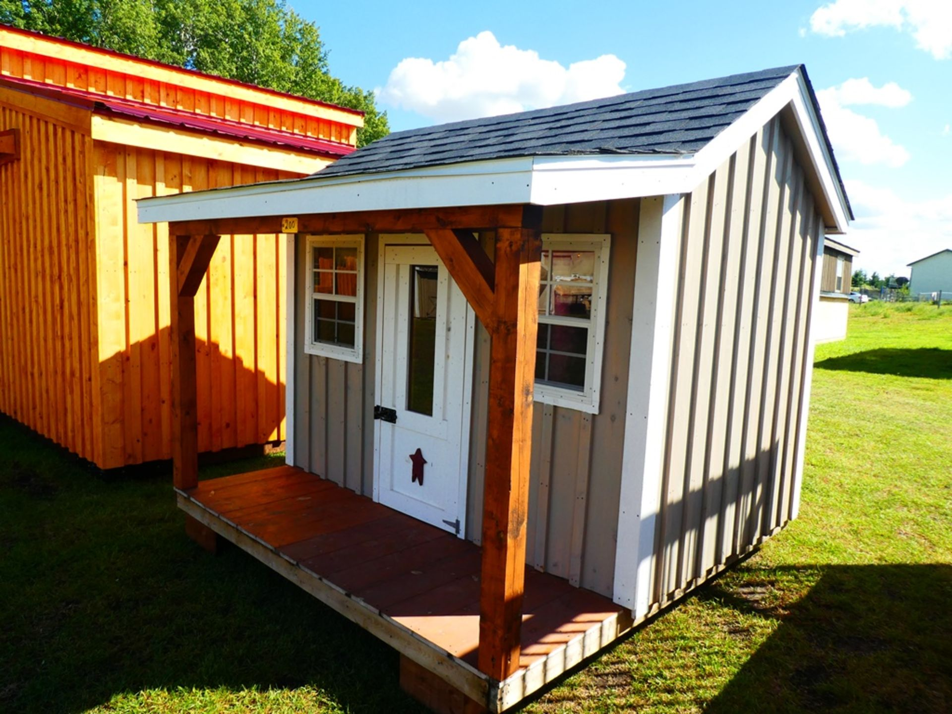 HAND CRAFTED 8'X8' PLAY HOUSE
