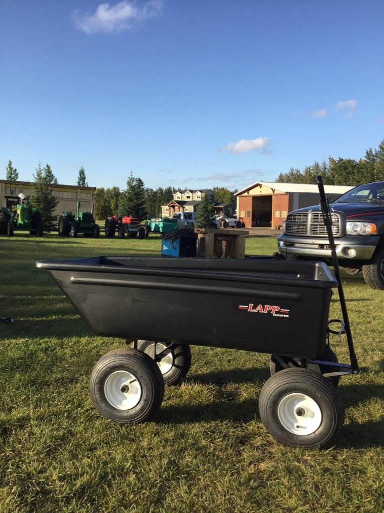 PORTABLE BUILDINGS, COMPACT TRACTOR, TOOLS