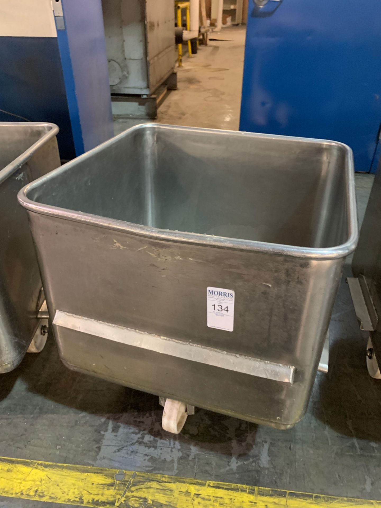 Meat tub, stainless steel