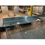 Stainless Steel Prep Table 12'