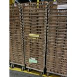 Food transport baskets, short, with dolly (QTY: 25)