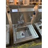 Hand washing station, stainless steel