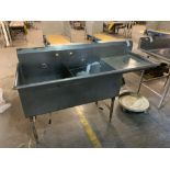 2 Basin stainless steel sink