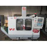 2000 HAAS VF-2 VERTICAL MACHINING CENTER, TRAVELS: 30 X 20 X 20, 21 ATC, HAS CONTROL – SERIAL#: