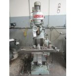 """VICTOR VERTICAL MILLING MACHINE, 10"""" X 44"""", TO INCLUDE MISC. ATTACHMENTS"""