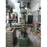 """ROCKWELL VERTICAL MILLING MACHINE TYPE 22, MODEL 1225350, TABLE 7"""" X 28"""""""