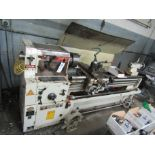 1995 YANG ENGINE LATHE, MODEL YANG-CL48150G, SERIAL B92668, WITH ASSOCIATED TOOL HOLDERS AND TOOLING