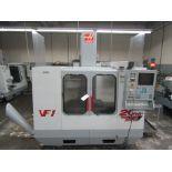2000 HAAS VF-1 VERTICAL MACHINING CENTER, TRAVELS: 20 X 16 X 20 21, HAAS CONTROL, ATC – SERIAL#: