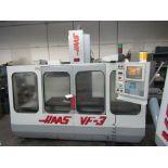 1995 HAAS VF-3 VERTICAL MACHINING CENTER, TRAVELS: 30 X 20 X 20, 21 ATC, HAAS CONTROL – SERIAL#: