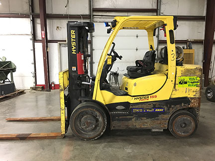 RENTAL RETURN FORKLIFTS - ONLINE ONLY