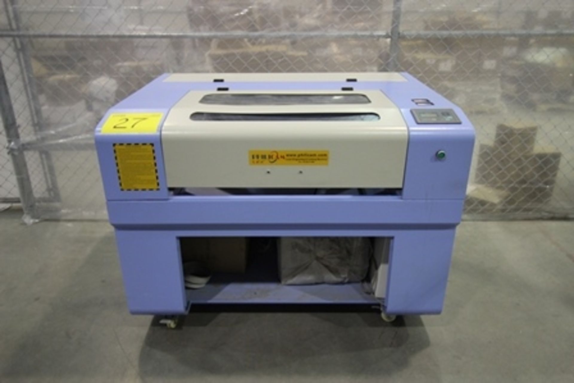 Lot 27 - 2017 Phillican CO2 laser engraver and cutting machine, model 6090. Laser power: 80x2w, 3.2Kw, series