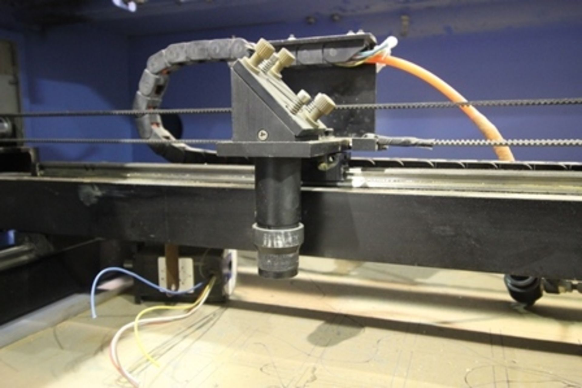 Lot 19 - 2016 Phillican CO2 laser engraver and cutting machine, model 6090. Laser power: 80w, 2Kw.