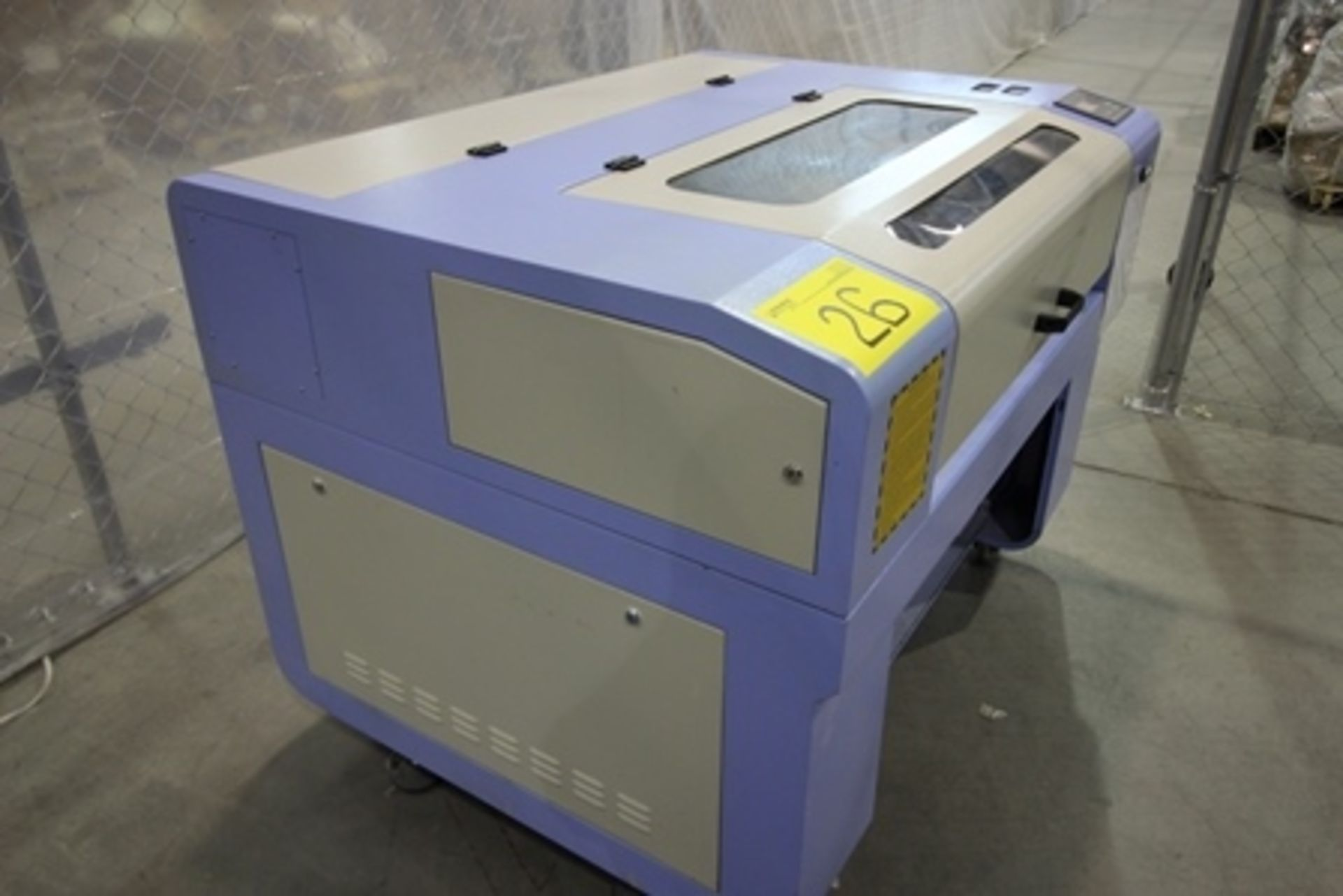 Lot 26 - 2017 Phillican CO2 laser engraver and cutting machine, model 6090. Laser power: 80x2w, 3.2Kw, series