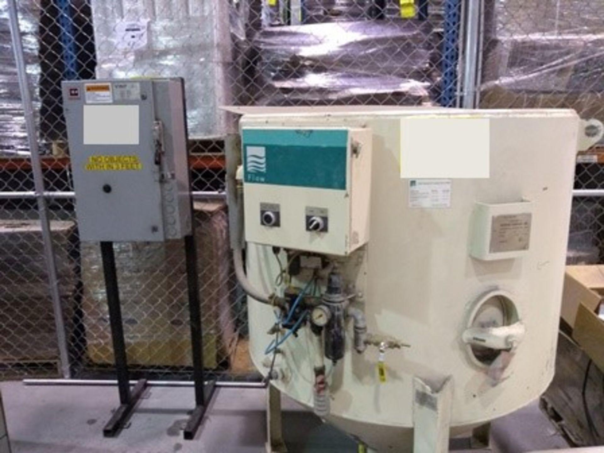 Lot 14 - Flow Waterknife 7x, Intensifier Waterjet Pump: 60,000 PSI Operating Pressure, Mawp 483 kpg, ser …