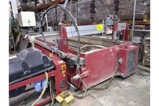 2011 OMAX MAXIEM 1530 WATER JET, CNC CUTTING MACHINE
