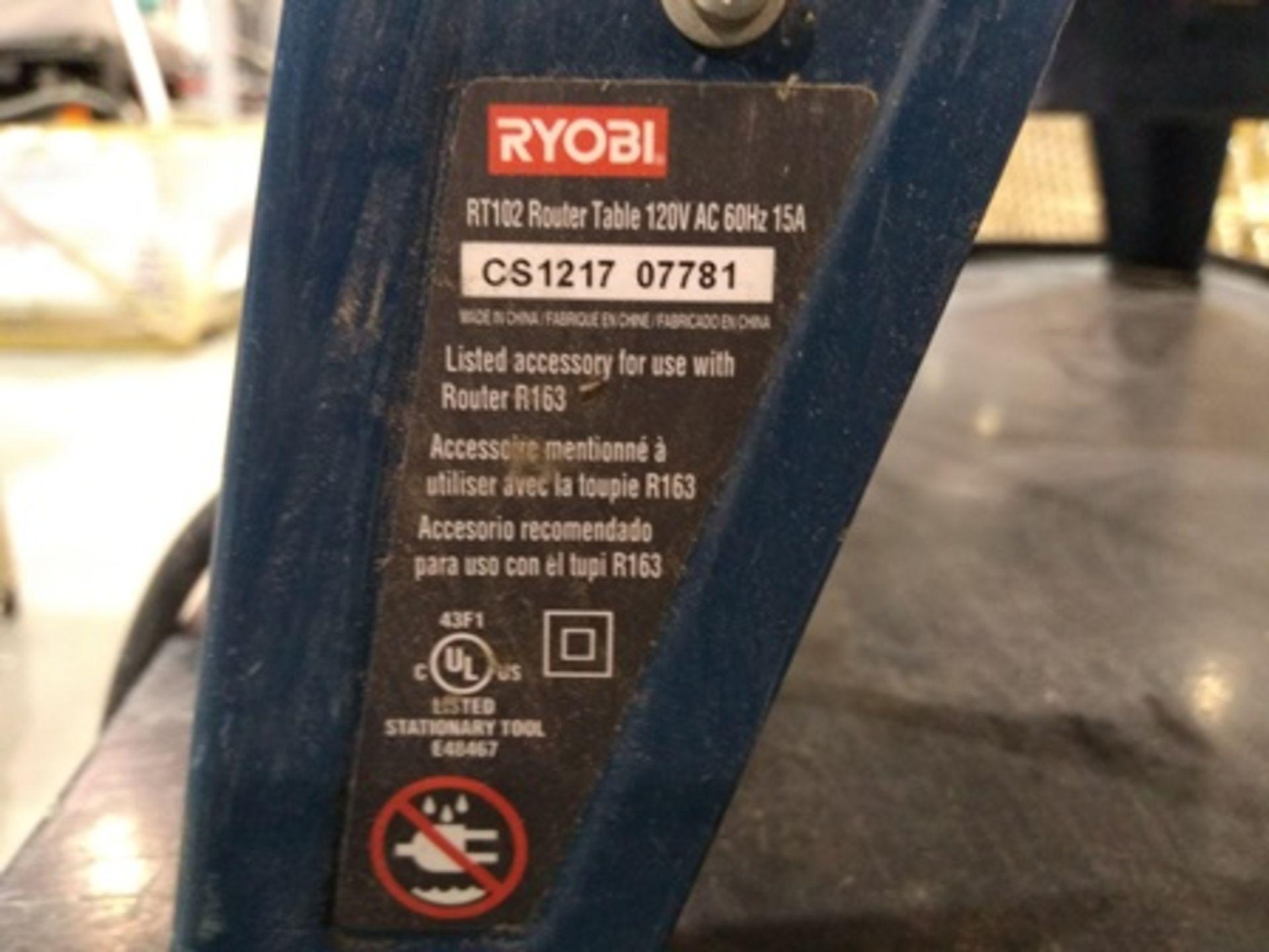 Lot 35 - Ryobi wood edger.