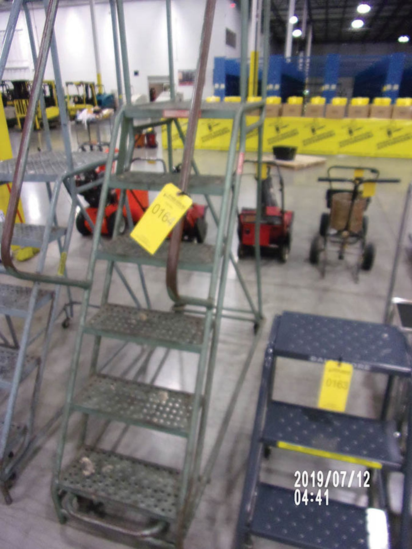 Lot 164 - LADDER IND. STOCKROOM STAIRS
