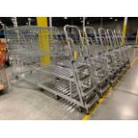 Lot 187 - ALUMINUM PICKING CART WITH LADDER