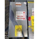 EATON HD SAFETY SWITCH; 100 AMP, 600V, 60 HZ, 250V