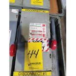 EATON HD SAFETY SWITCH; 60 AMP, 600V, 60 HZ, 250V