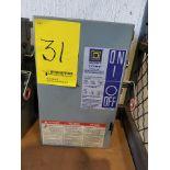 SQUARE D I-LINE BUSWAY UNIT; 60 AMP, 600 VAC, 3-PHASE, 4W