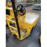 WESLEY INT. PACK MULE ELECTRIC CARTS, MODEL SC-775-, STAND UP DRIVE, FORWARD REVERSE, BACK REST