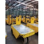 WESLEY INT. PACK MULE ELECTRIC CARTS, MODEL SC-775-, STAND UP DRIVE, FORWARD REVERSE, BACK REST,