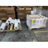 (2) PALLETS OF STRETCH WRAP FOR PALLETIZERS