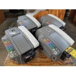 (4) BETTER PACKAGES BETTER PACK 555E TAPE MACHINES, RAISED BUTTONS