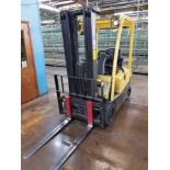 """2011 HYSTER 40 LIFT ONE 3,250-LB. ELECTRIC FORKLIFT, SOLID NON-MARKING TIRES, 187"""" LIFT HEIGHT,3-"""