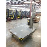 2007 ARPAC EZ LOAD ROTARY TABLE STRETCH WRAPPER, MODEL PRO-4002-H, SN 10069, 4,000 LB. CAPACITY, 50