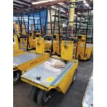 WESLEY INT. PACK MULE ELECTRIC CARTS, MODEL SC-775- 6CB, STAND UP DRIVE, FORWARD REVERSE, BACK REST,