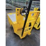 2011 WESLEY INT. PACK MULE ELECTRIC CARTS, MODEL SC-775- 6CA, STAND UP DRIVE, FORWARD REVERSE,