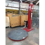 """FOX C1-PLUS ROTARY STRETCH WRAPPER, 1.5 HP, SN 02100626, 56"""" DIA. TABLE, ADJUSTABLE FILM FORCE"""