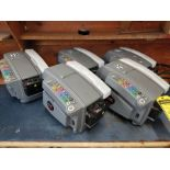 (5)BETTER PACKAGES BETTER PACK 555E TAPE MACHINES, RAISED BUTTONS