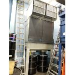 PULSE-PAK DESIGNS DUST COLLECTOR, DUAL BOTTOM DISCHARGE