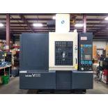 2000 MAKINO UHS CNC VERTICAL MACHINING CENTER,MODEL V55, MAKINO PRO 3 DRO CNC CONTROL (1 MM PULSE