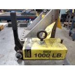 MAG-MATE JUNIOR CREATIVE LIFT 1,000 LIFTING MAGNET, MODEL 5C1383, ROLLER CAM RELEASE