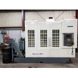 2006 KITAMURA CNC VERTICAL MACHINING CENTER, MODEL MYCENTER 4XIF, FANUC 16I-MB CNC CONTROL WITH HPCC