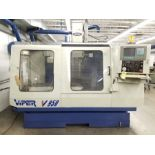 2000 VIPER CNCVERTICAL MACHINING CENTER,MODEL V950, MITSUBISHI KWS-980A DRO CONTROL WITH HS BUFFER