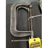 (2) DROPPED FORGE INDIA NO. 406 C-CLAMPS